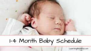 how long should a 1 month old sleep at night without eating