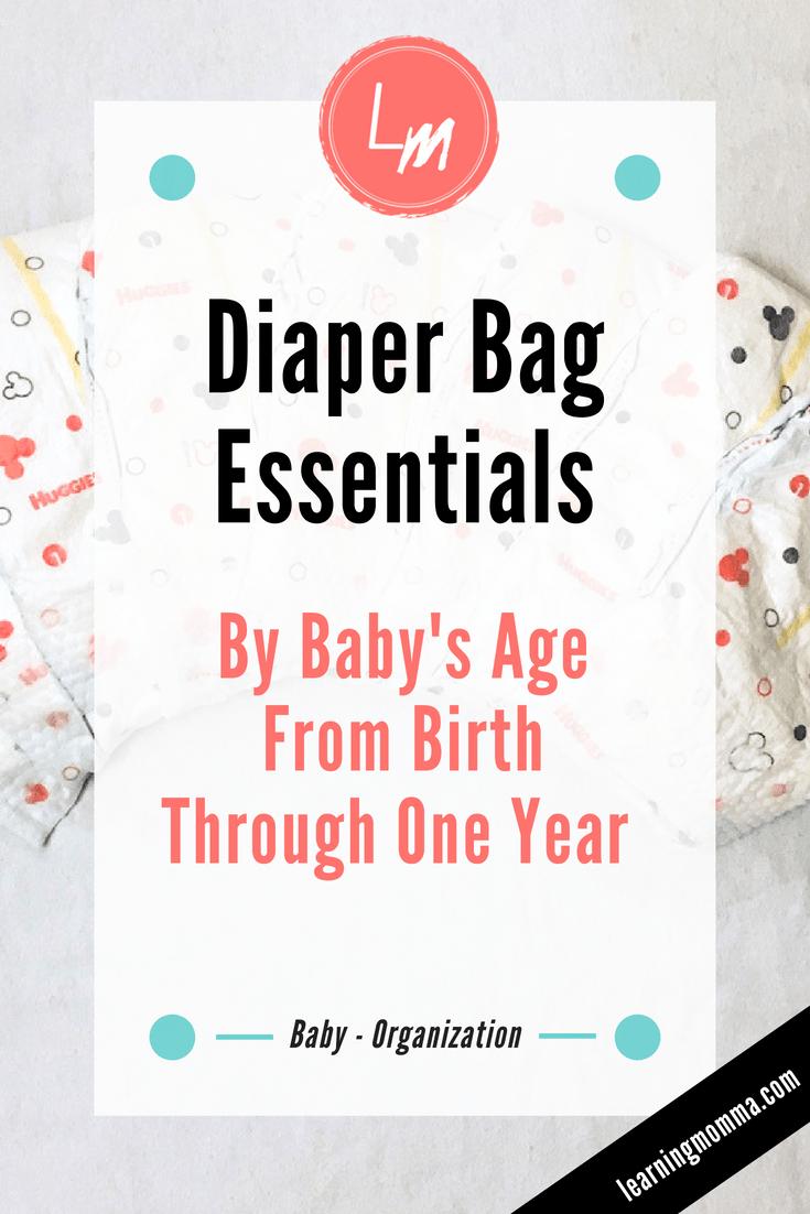 Diaper Bag Checklist PDF