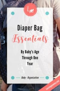 Diaper Bag Essentials, What to pack in the diaper bag, traveling with baby