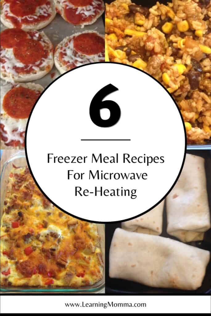 meals that reheat well microwave