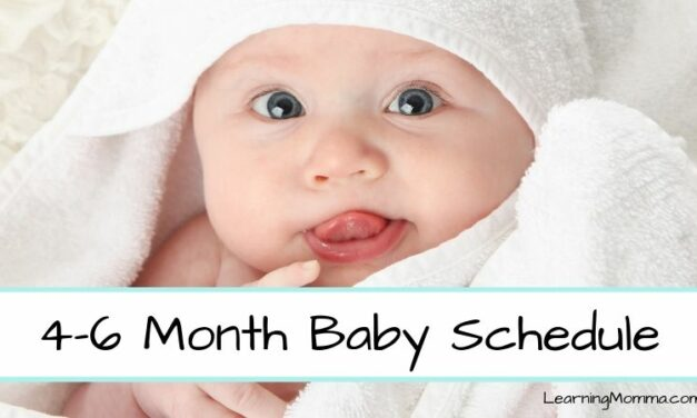 4-6 Month Baby Sleeping & Eating Schedule