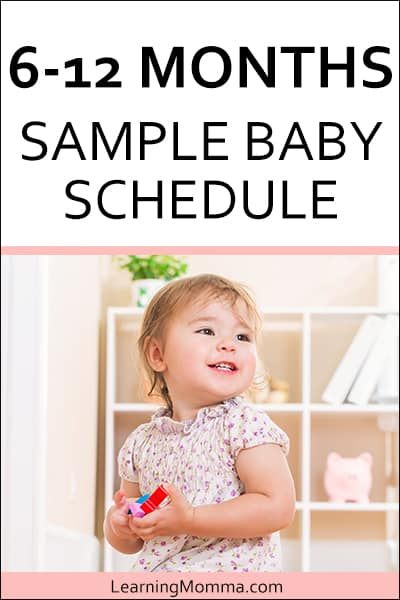 6 month old schedule babywise