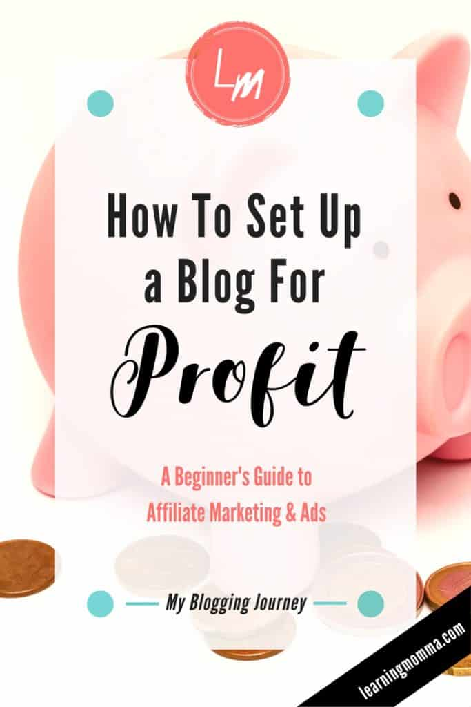 Make Money Blogging, How to Earn a Profit Blogging, Make Money Online, Work From Home