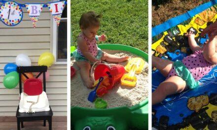 1st Birthday Party Themes For Summer – Backyard Beach