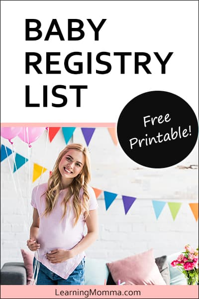 First Baby Registry List