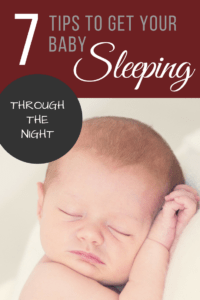 Baby Sleep Through The Night / How to Get Newborn to Sleep Through The Night / Tips for Baby Sleep / Baby Wise / Baby Won't Settle At Night