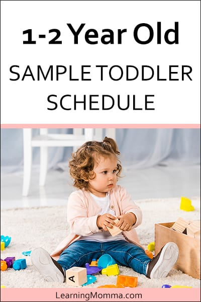 13 month old feeding schedule