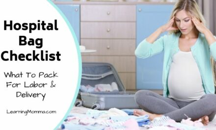 Printable Hospital Bag Checklist For Labor And Delivery | Mom & Baby