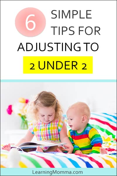 tips for coping with new baby and toddler