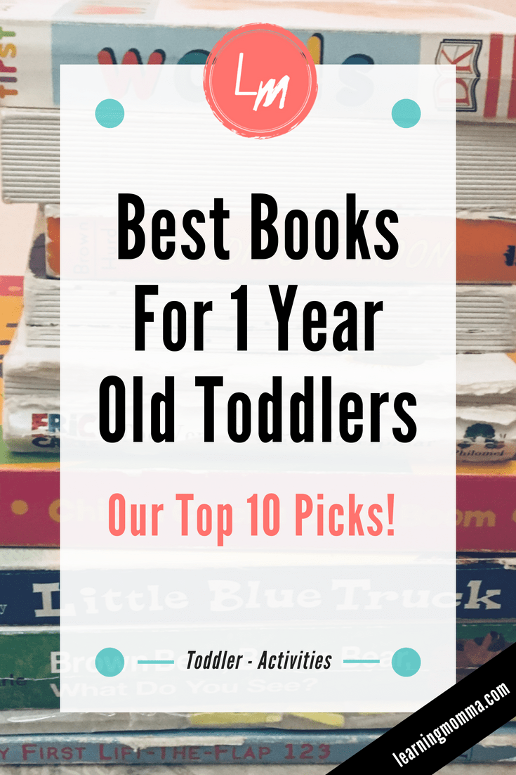 Best Books For 1 Year Old Toddlers