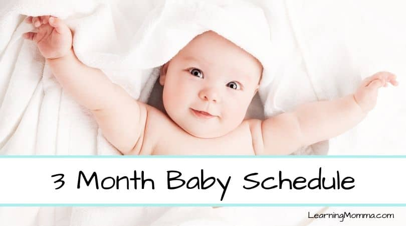 3 Month Old Sleep Schedule Babywise | Sample Daily Routine