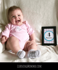 Baby Month Cards For Photos