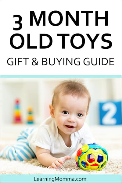 interactive toys for 3 month olds