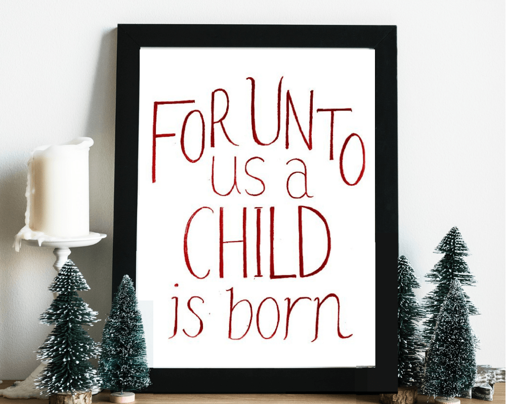 Free Christmas Printables | Farmhouse Christmas Decor To Print