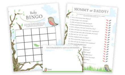 Guess Who Mommy Or Daddy & Baby Shower Bingo | Download & Print