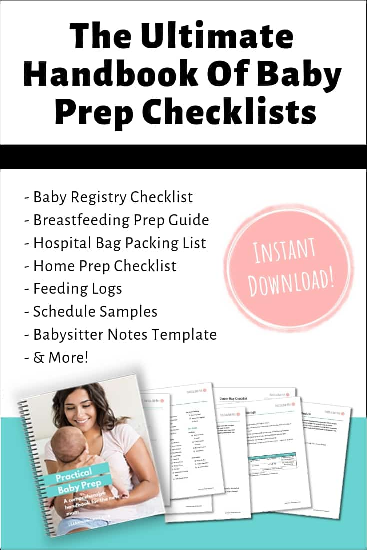 checklist before baby comes home