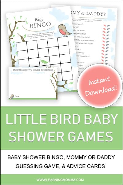 guess who mommy or daddy baby shower game questions