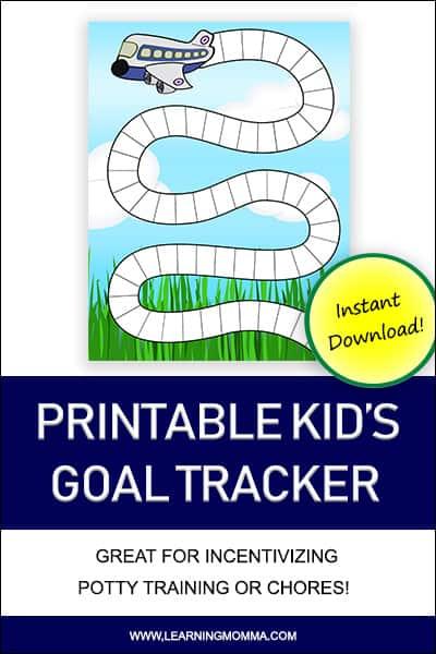 Printable Goal Charts