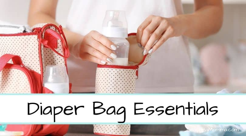 Diaper Bag Essentials | What To Pack In A Diaper Bag By Baby's Age