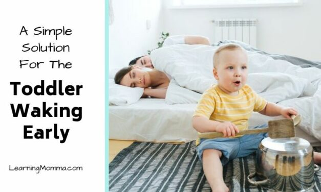 1 Simple Resource To Help The Toddler Waking Early