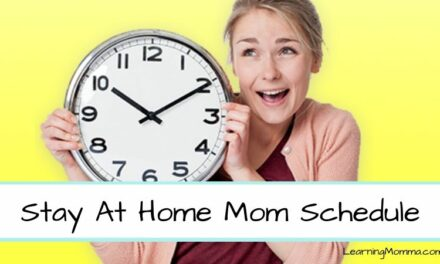 Stay At Home Mom Schedule Sample – My Routine With A 1 & 3 Year Old