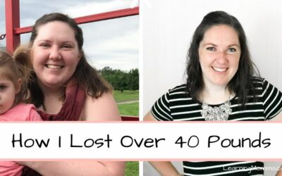 Losing Weight After Baby Number 2 – How I Lost Over 40 Pounds In Less Than 9 Months