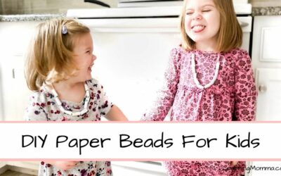 DIY Paper Beads For Kids – Step By Step Instructions!