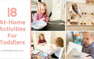 18 At-Home Toddler Activities To Keep Your Kids Entertained